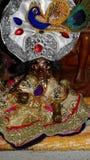 Lord Krishna como Gopala Imagen de archivo