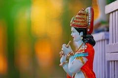 Lord Krishna e Radha imagem de stock