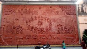 Lord Krishna met zijn liefde Radha royalty-vrije stock foto's