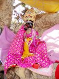 Lord Krishna Statue. In a Village Temple Royalty Free Stock Images