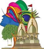 Lord Krishna Temple 4 Stock Photo