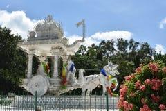 Lord Krishna-Wagenlenker und -berater Stockfotografie