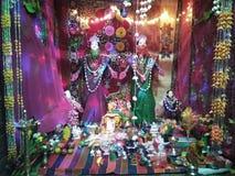 Lord lakshmi. Worship of lord lakshmi Stock Photography