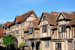 Lord Leycester Hospital, Warwick. Royalty Free Stock Photos