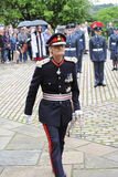 Lord Lieutenant of Hampshire on parade in best uniform Royalty Free Stock Image