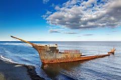 Lord Lonsdale frigate wreckship Royalty Free Stock Image
