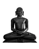 Lord Mahavir imagem de stock royalty free