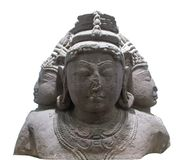 Lord Mahesha Stone Sculpture foto de stock