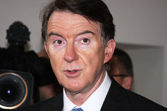 Lord Mandelson Royalty Free Stock Photos