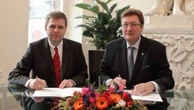 Lord Mayor of Düsseldorf Stock Image