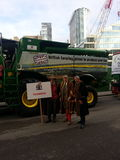 Lord mayor show. Farmer's representative 2014. London Royalty Free Stock Images