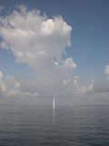 lord min oh små ship Royaltyfri Foto