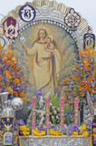 virgen mary lima peru Royalty Free Stock Photography