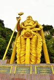 Lord Muruga, Batu caves Kuala Lumpur, Malaysia. Lord Murugan Statue is the tallest statue of a Hindu deity in Malaysia and second tallest statue of a Hindu Stock Images