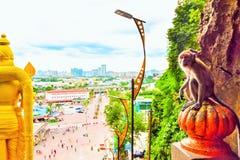 Lord Muruga, Batu caves Kuala Lumpur, Malaysia. Lord Murugan Statue is the tallest statue of a Hindu deity in Malaysia and second tallest statue of a Hindu Stock Photography