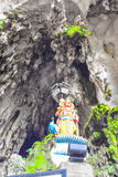 Lord Muruga, Batu caves Kuala Lumpur, Malaysia. Lord Murugan Statue is the tallest statue of a Hindu deity in Malaysia and second tallest statue of a Hindu Royalty Free Stock Photography