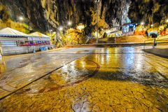 Lord Muruga, Batu caves Kuala Lumpur, Malaysia. Lord Murugan Statue is the tallest statue of a Hindu deity in Malaysia and second tallest statue of a Hindu Stock Photo