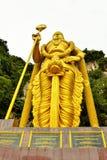 Lord Muruga, Batu excava a Kuala Lumpur, Malasia Imagenes de archivo