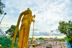Lord Muruga, Batu excava a Kuala Lumpur, Malasia Fotografía de archivo libre de regalías