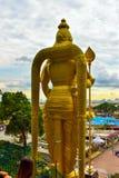 Lord Muruga, Batu excava a Kuala Lumpur, Malasia Imagen de archivo libre de regalías