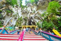 Lord Muruga, Batu scava Kuala Lumpur, Malesia Immagine Stock