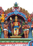 Lord Muruga with his disciples Stock Image