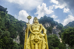 Lord Muruga statue Stock Photography
