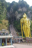 Lord Murugan at the Batu Caves Royalty Free Stock Photography