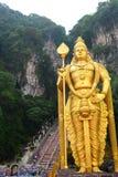 Lord Murugan statue. Batu Caves hindu temple. Gombak, Selangor. Malaysia Royalty Free Stock Images