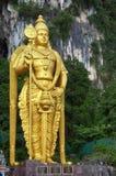 Lord Murugan Statue an Batu-Höhlen Lizenzfreie Stockbilder