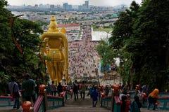 Lord Murugan Statue, cavernas de Batu, Kuala Lumpur, Mal?sia foto de stock royalty free