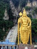 Lord Murugan Statue en caverne de Batu, Malaisie photo libre de droits