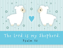 The Lord Is My Shepherd Royalty Free Stock Photography