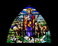 The Lord is my Shepherd Stock Image