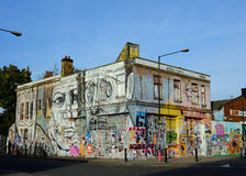 East London, UK: Lord Napier public house, Hackney Wick, nr Stratford Royalty Free Stock Photography