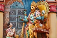 Lord Narasimha Stock Photography