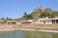Lord Narasimha Swamy Temple stockbild