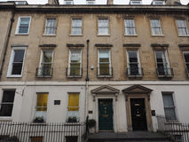 Lord Nelson house in Bath Stock Images