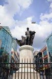 Lord Nelson statue, Birmingham. Royalty Free Stock Photos