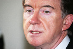 Lord Peter Mandelson Stock Photos