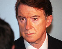 Lord Peter Mandelson Royalty Free Stock Photography