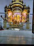 Lord Radha Krishna Religion bilder royaltyfria foton