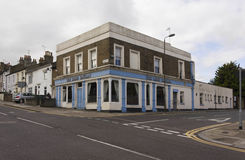 Lord Raglan old pub in London suburbs Stock Images