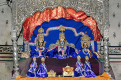 Lord Ram and Sita Royalty Free Stock Images