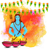 Lord Rama for Dussehra and Diwali celebration. Royalty Free Stock Image