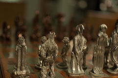 Lord of the  Rings chess Stock Image