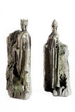 Lord of the Rings figurine showing the Argonaths, kings of Gondor Stock Images