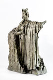 Lord of the Rings figurine showing Isildur the Argonath, king of Gondor Stock Photos