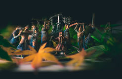 Lord Of The Rings In Motion. ! Action figures come to life royalty free stock photography
