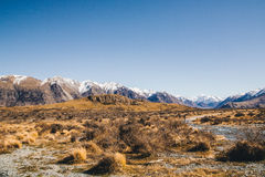 Lord of the rings,Mount Sunday at The Rangitata River Hakatere C Stock Image